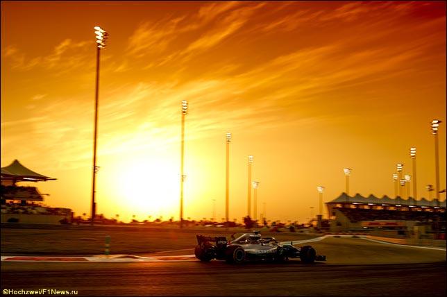 Гран При Абу-Даби: Прогноз погоды на гонку
