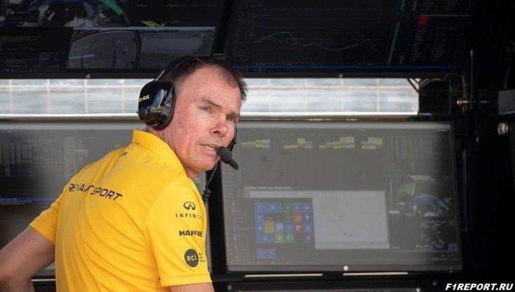 Пермейн:  Болиду Renault не хватает скорости на одном быстром круге