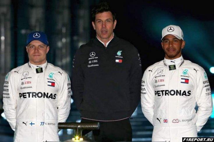 В Mercedes уверены в том, что в 2019-м году Боттас сможет навязать борьбу Хэмилтону