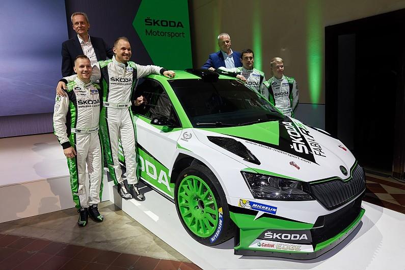 """WRC 2: Ян Копецки и Калле Рованперя поедут в следующем сезоне за """"Шкоду"""", Тидеманд покидает команду"""