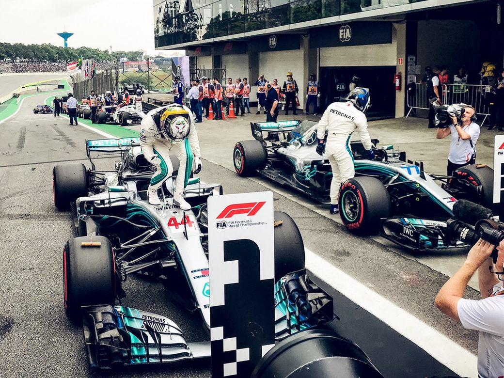 Стартовая решетка Гран При Бразилии