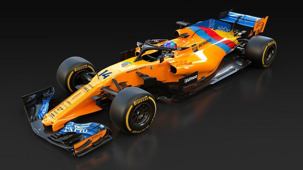 Фернандо Алонсо представил особую ливрею на свой последний Гран При