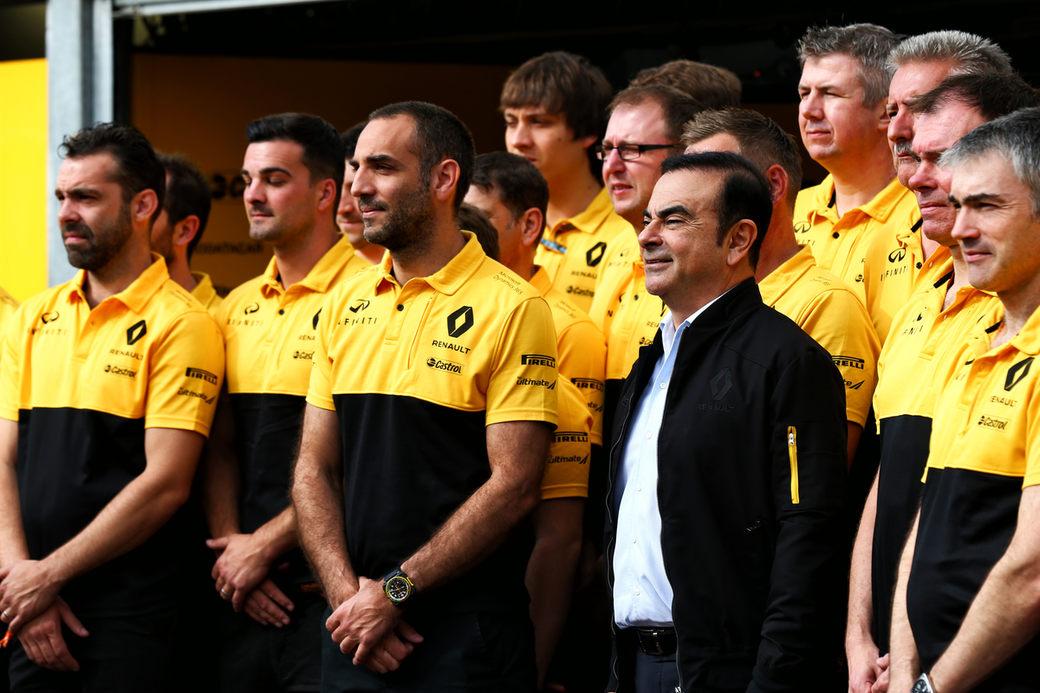 В Renault не волнуются за будущее команды Формулы 1 после ареста Карлоса Гона