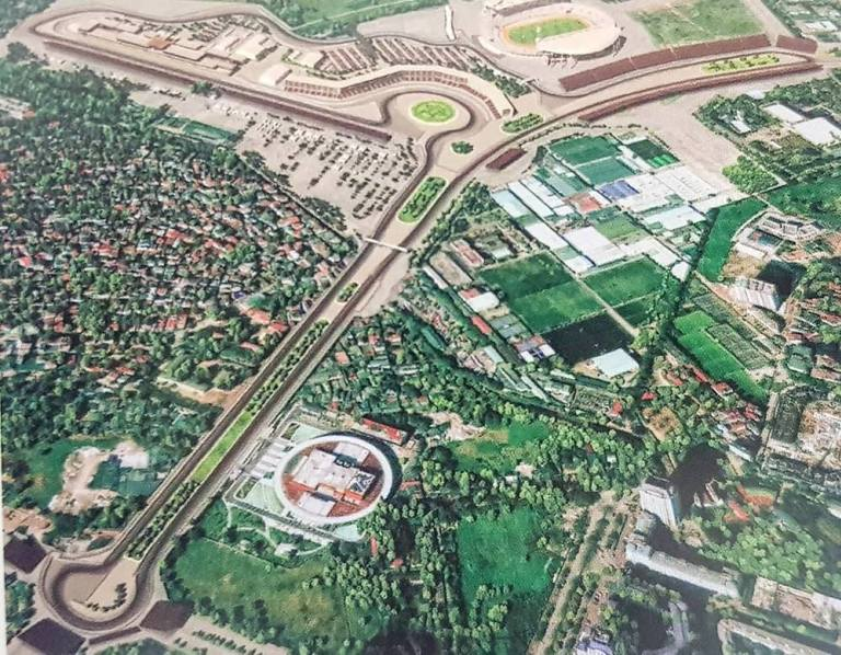 Опубликована схема трассы Формулы 1 во Вьетнаме