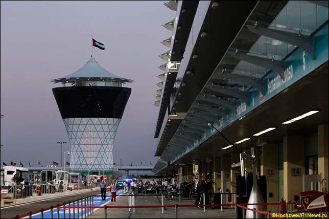 Гран При Абу-Даби: Круглые числа