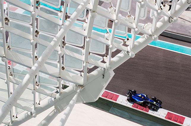 Формула 2: Делетраз – лучший на тестах в Абу-Даби