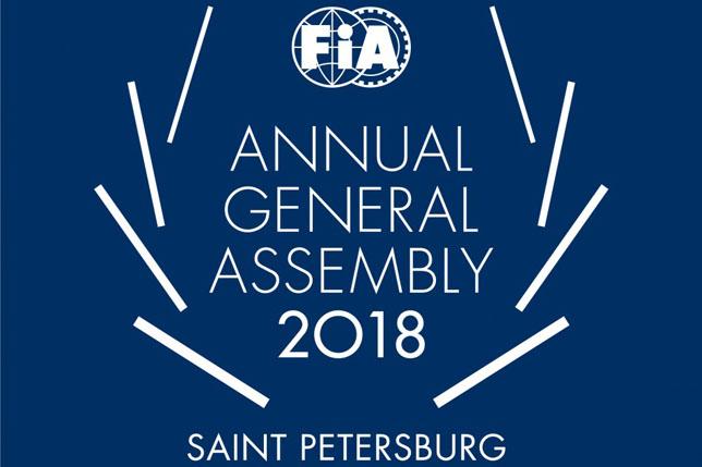 В Санкт-Петербурге началась Генеральная ассамблея FIA