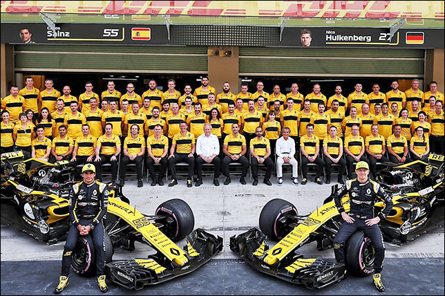 Итоги сезона: Renault Sport F1 Team