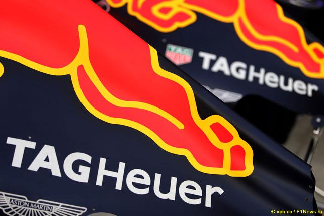 В Red Bull Racing продлили контракт с TAG Heuer
