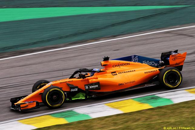 В McLaren назвали причины проблем в 2018-м