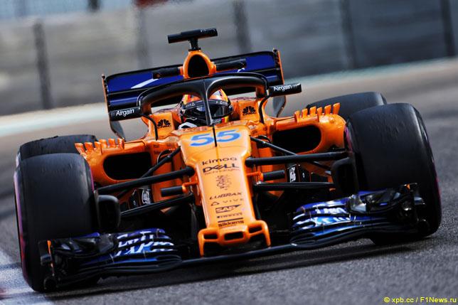 Сайнс: Я прихожу в McLaren с высокими ожиданиями