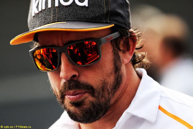 В IndyCar рассчитывают на Алонсо