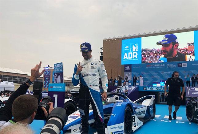 Формула E: Первую гонку сезона выиграл да Кошта