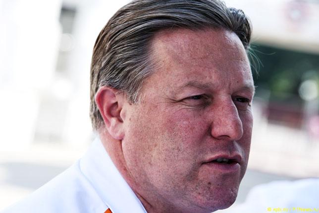 В McLaren поддерживают скорейшее ограничение бюджетов