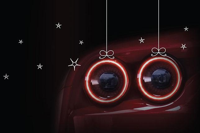 Ferrari поздравляет с Рождеством