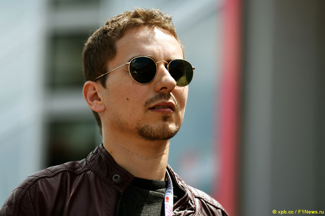 Хорхе Лоренцо мечтает снова сесть за руль Формулы 1