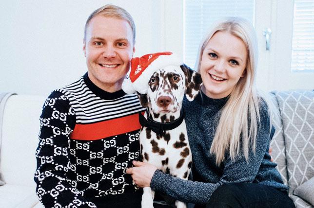 Валттери Боттас: Я завидую своей собаке!