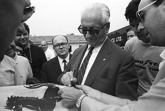 Энцо Феррари, 1966 год
