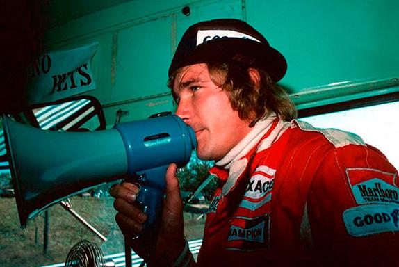Джеймс Хант на Гран При Канады 1976 года. Фото McLaren