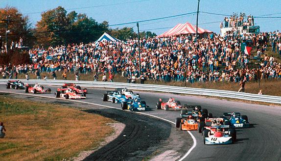 Старт Гран При Канады 1976 года