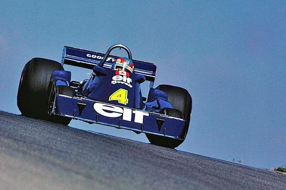 Патрик Депайе на Гран При Канады 1976 года