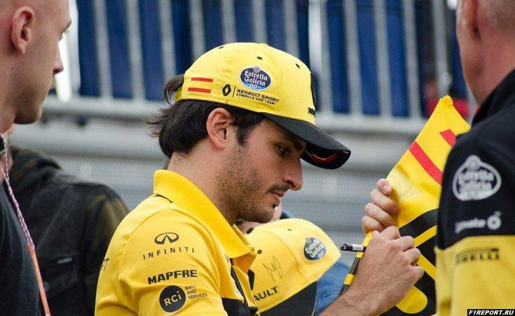 Сайнс раскритиковал болид Renault 2018-го года