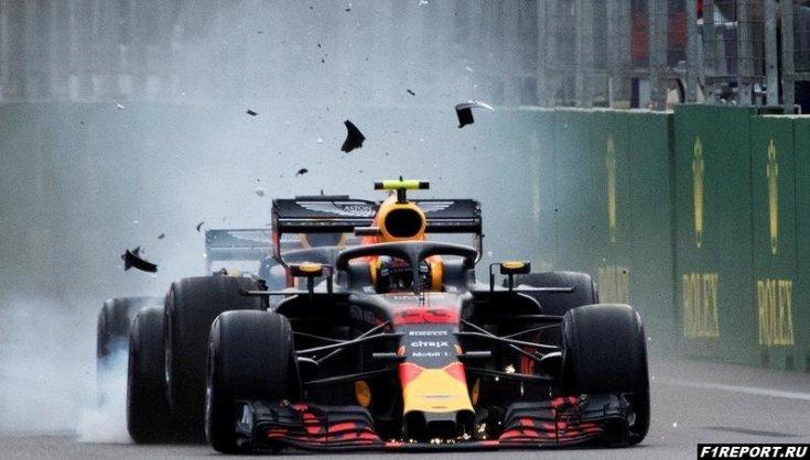 После гонки в Баку руководители Red Bull запретили Ферстаппену и Риккардо обвинять друг друга