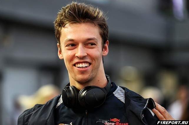 Квят посетил базу Toro Rosso