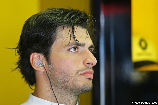 Сайнс:  Я хочу стать лидером команды McLaren