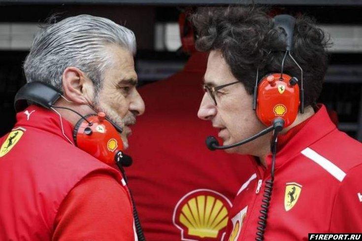 На уровне руководства Ferrari нужно навести порядок