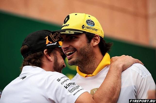 Алонсо посоветовал Сайнсу подписать контракт с McLaren
