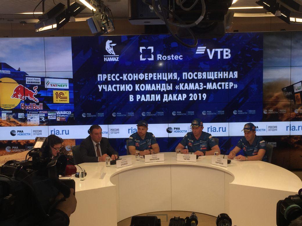 Эдуард Николаев: Главным конкурентом КАМАЗ-Мастер на Дакаре-2019 будет Iveco