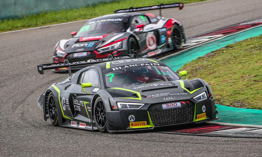 «Абсолют Рэйсинг» подтвердил два экипажа для сезона азиатской серии «Бланпен ГТ»