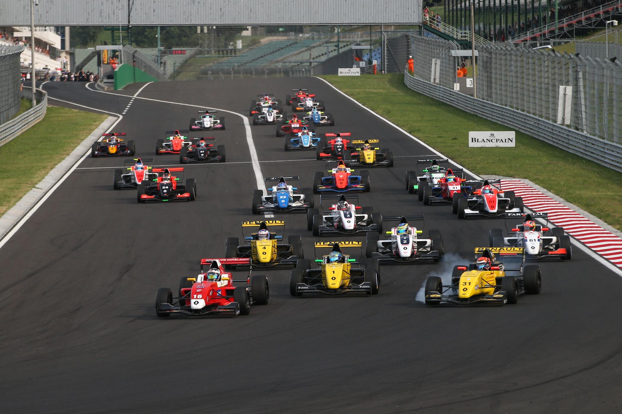 Утверждён календарь Еврокубка «Формулы Рено» на 2019 год