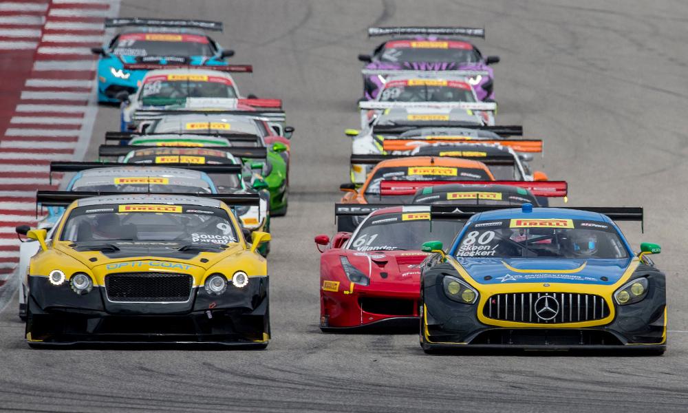 Продолжаются обновления в американских сериях «Бланпен ГТ» и «Пирелли ГТ4»