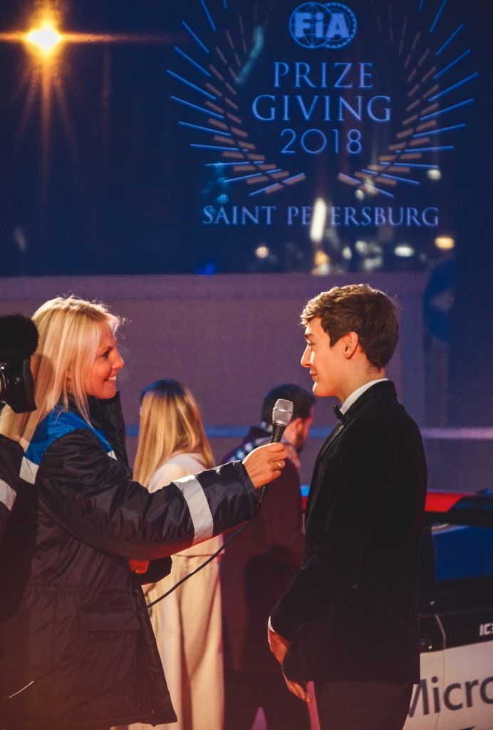 Фоторепортаж с пресс-конференции чемпионов и Гала-вечера ФИА