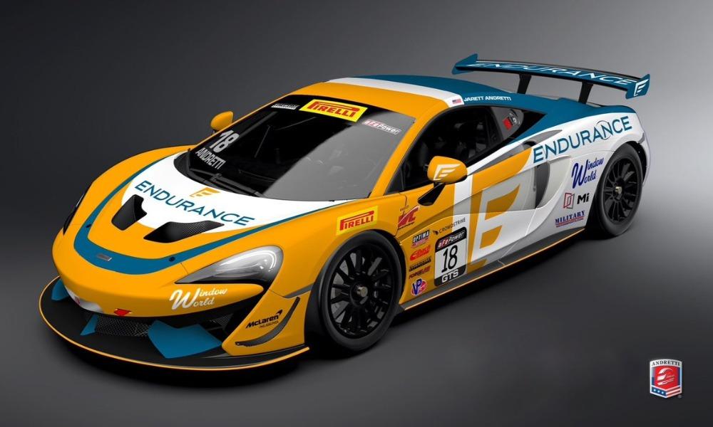 «Андретти Автоспорт» дебютирует в американской серии ГТ4