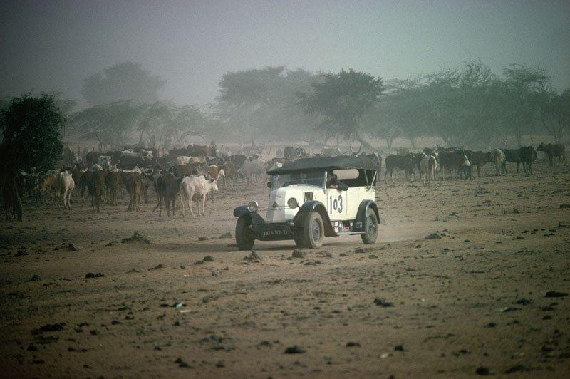 Самый первый «Дакар»