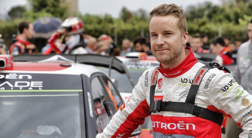 Мадс Эстберг проведет сезон в WRC 2 Pro за «Ситроен»