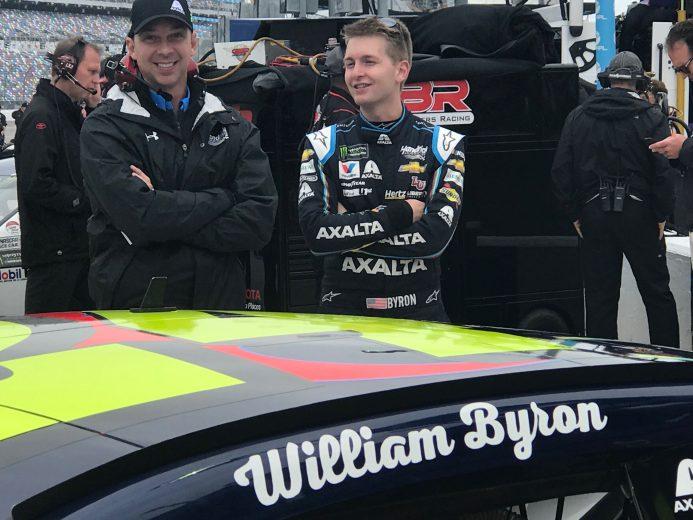 Уильям Байрон выиграл поул «Дейтоны-500»