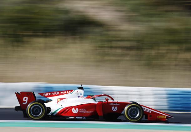 Мик Шумахер стал лучшим в заключительный день тестов «Формулы-2»