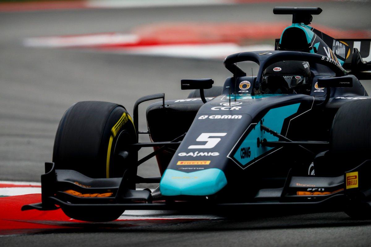 Камара впереди. Обзор второго дня тестов «Формулы-2» в «Барселоне