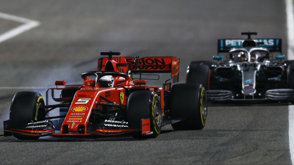 Феттель пожаловался на неуправляемость машины на ГП Бахрейна