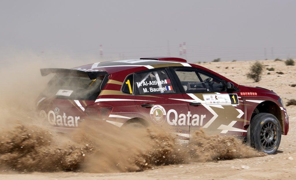 Нассер Аль-Аттия выиграл первый этап ближневосточного чемпионата по ралли в Катаре