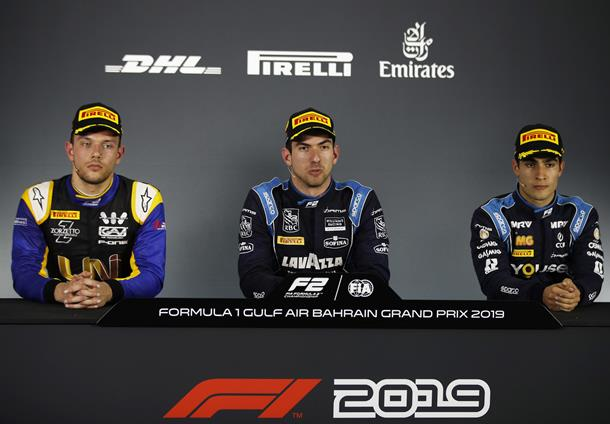 Латифи: Тяжелая работа окупилась. Пресс-конференция по итогам первой гонки «Формулы-2» в Бахрейне