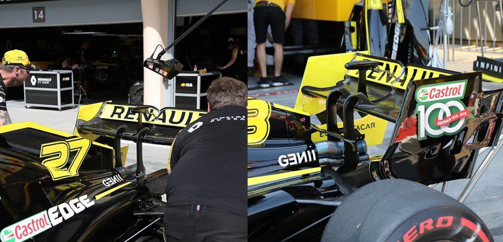 На машине Риккардо поменли шасси в качестве «перестраховки»