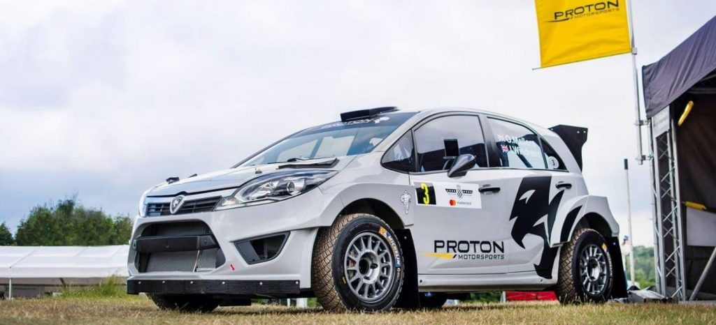 Автомобиль «Протон Ирис Р5» получил омологацию от ФИА