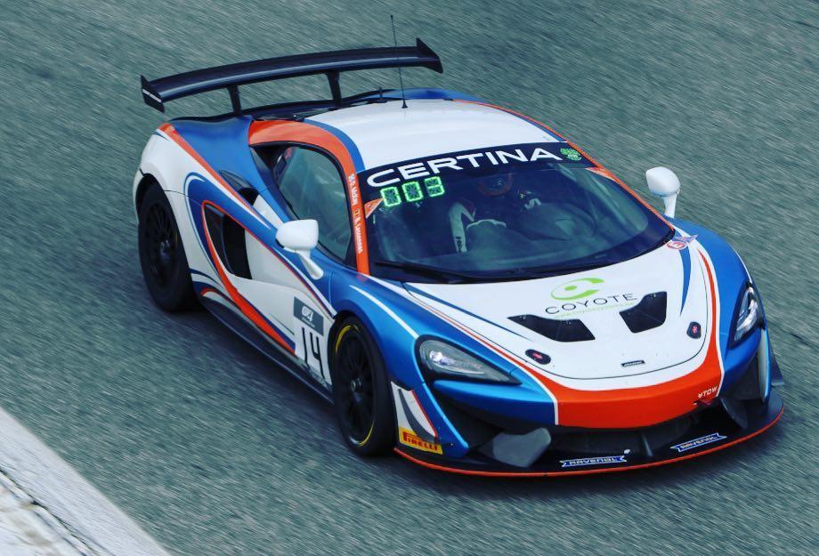 «Макларен» завоевал дубль в первой гонке Европейского ГТ4 в Монце