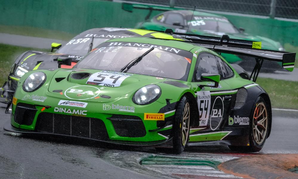 «Динамик Моторспорт» одерживает победу в дебютной гонке в «Бланпен ГТ»