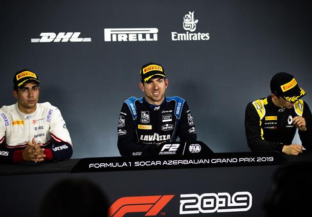 Латифи: Я счастлив, что избежал неприятностей. Пресс-конференция после воскресной гонки «Формулы-2» в Баку